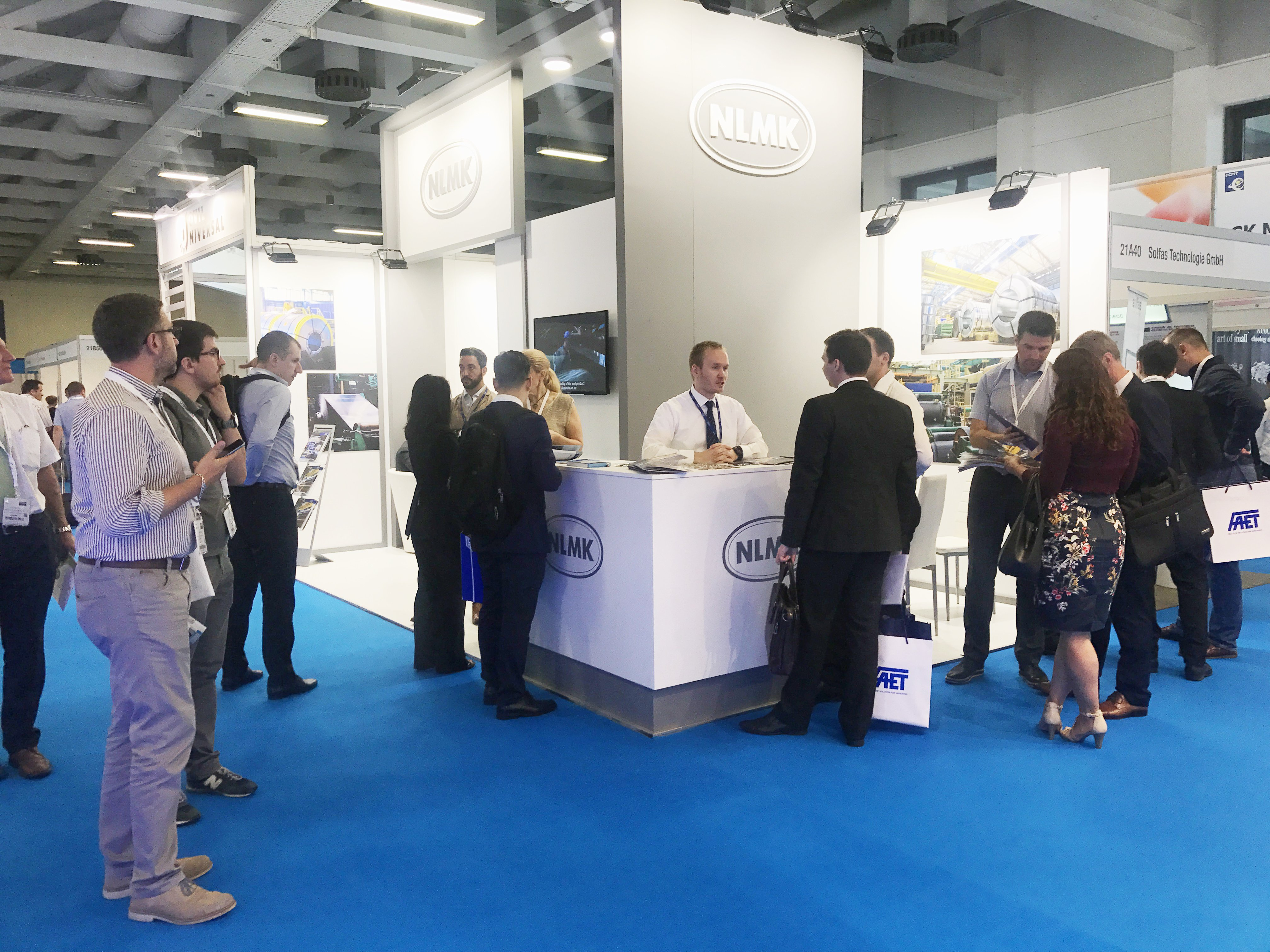 NLMK specialists at CWIEME 2018 Berlin International Trade Fair