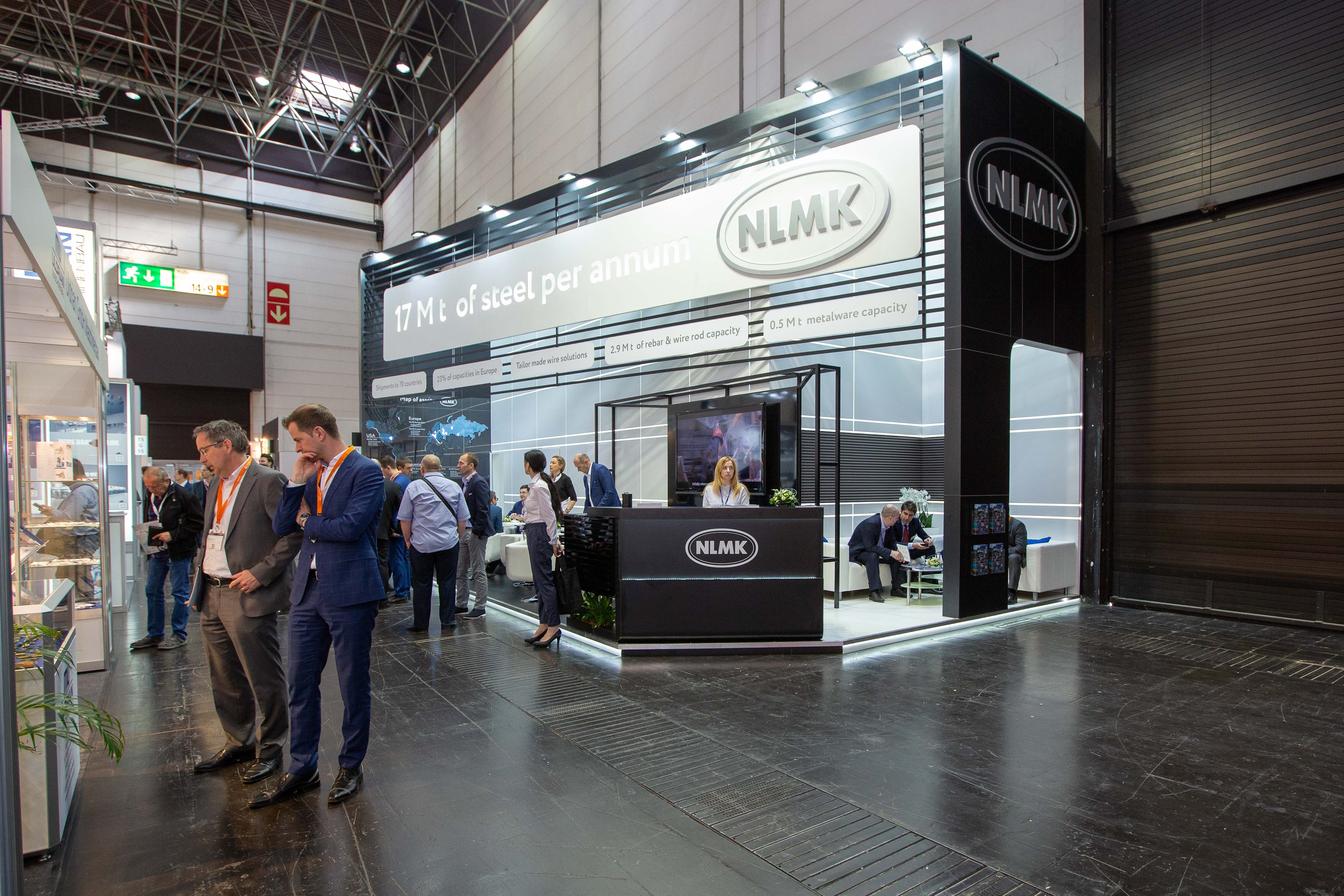 NLMK Group at Wire 2018 International Trade Fair in Düsseldorf