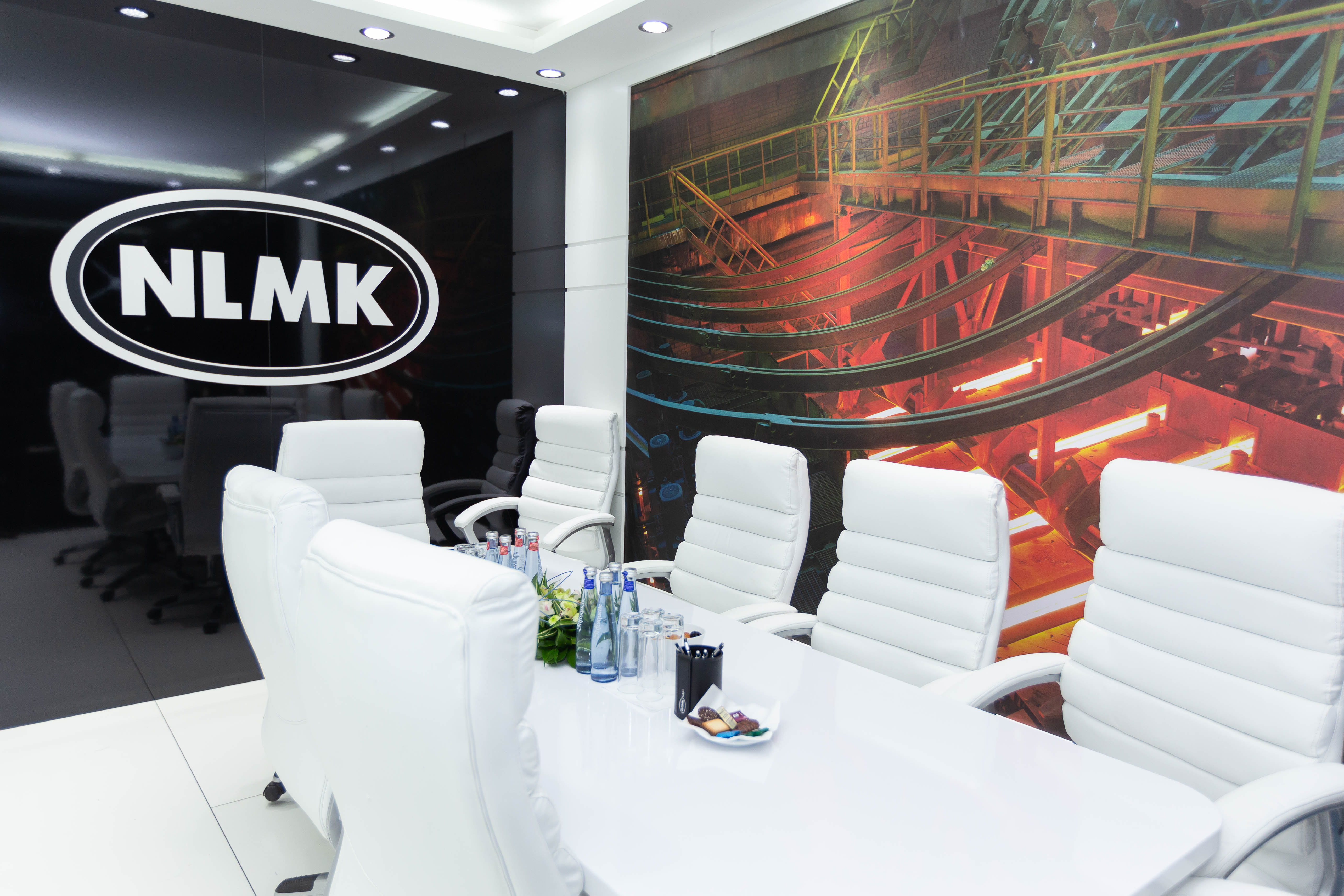 NLMK Group's stand at Wire 2018 International Trade Fair