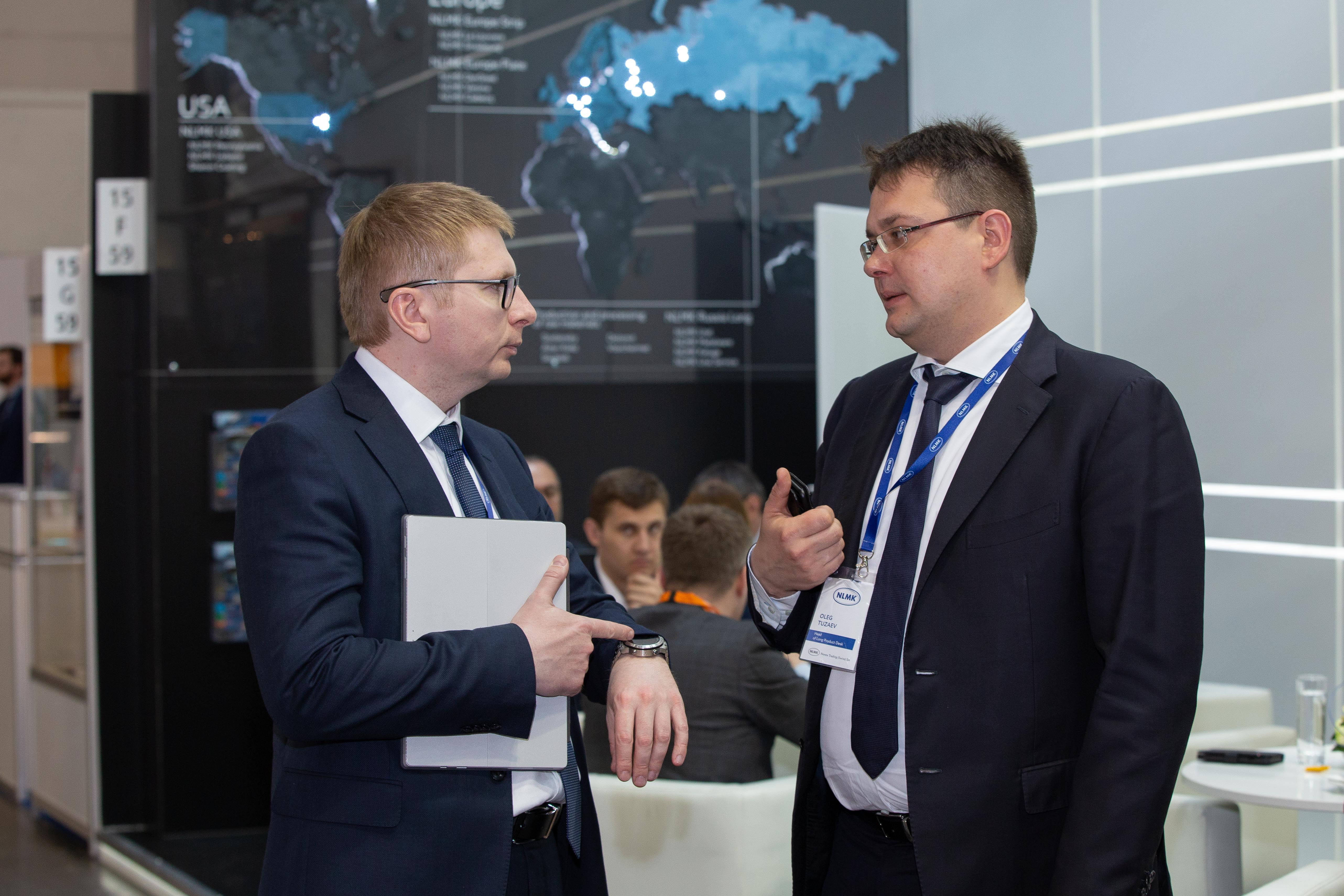 NLMK Russia Long Products specialists at Wire 2018 International Trade Fair
