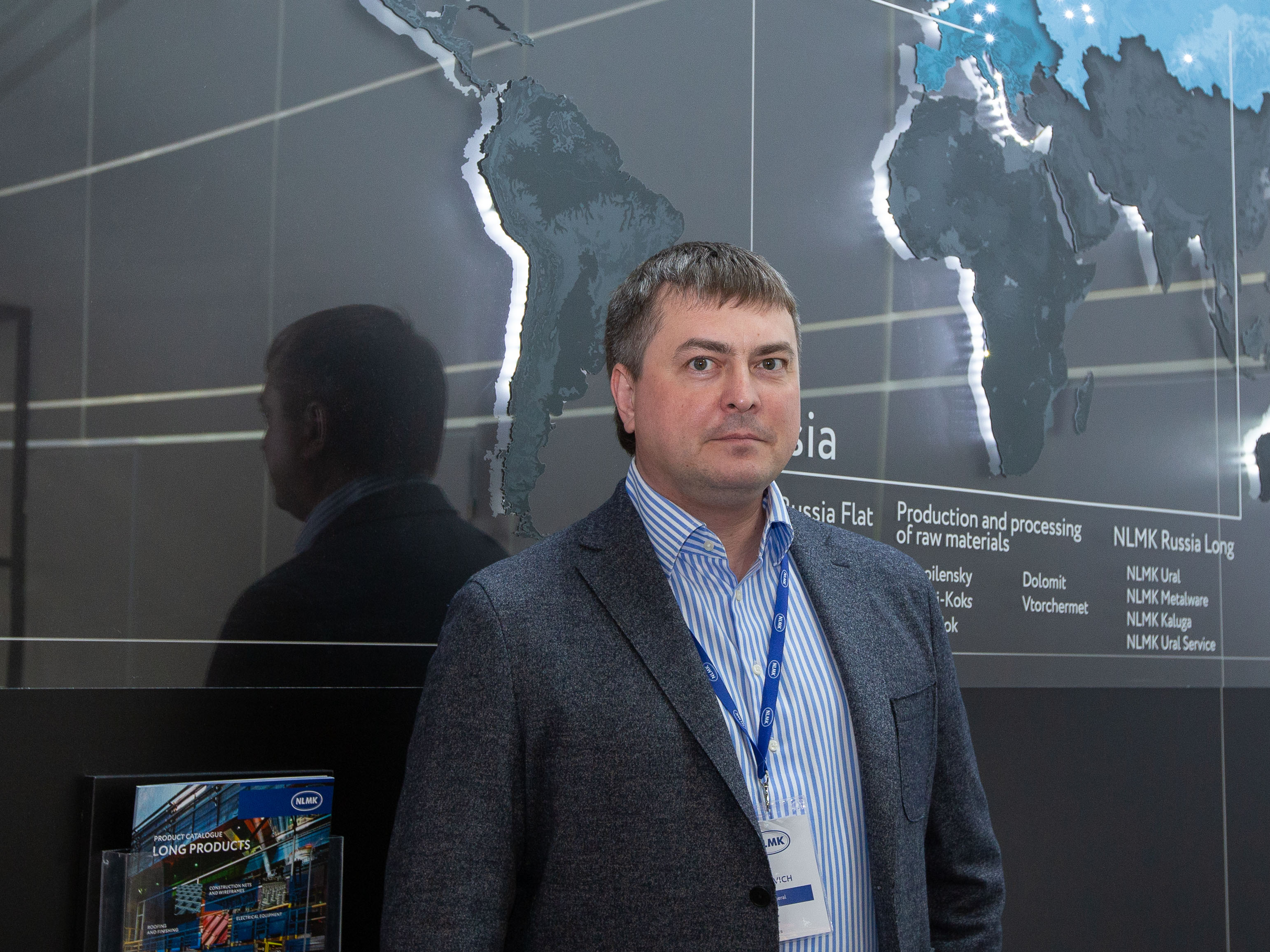 Dmitry Stopkevich, Chief Executive Officer of NLMK Long Products at Wire 2018 International Trade Fair